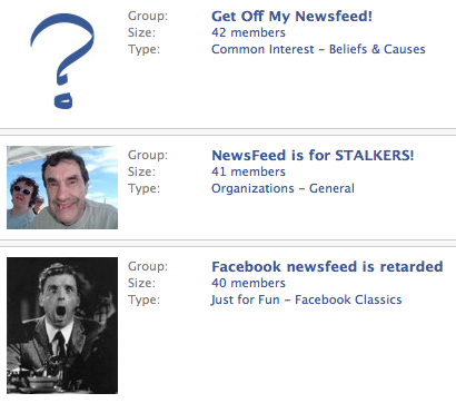 Newsfeed Hate Groups