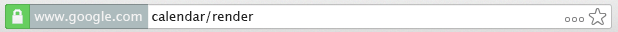 Finally, a clean URL bar for Chrome!