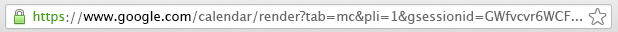 What Chrome's URL bar looks like today