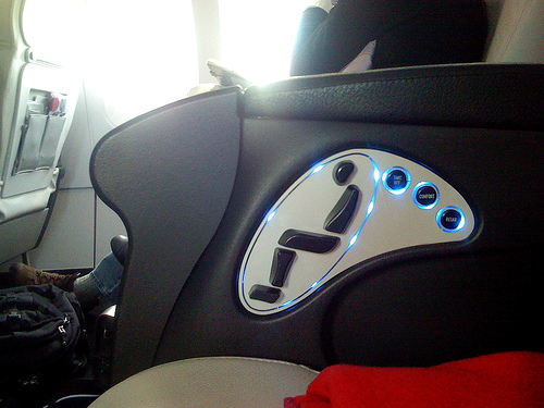A little better... each part of the seat is a toggle that can be moved in the direction you want. (photo by jasonEscapist)